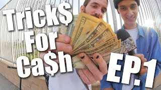 Skaters do Scooter Tricks for Ca$h!! │ The Vault Pro Scooters