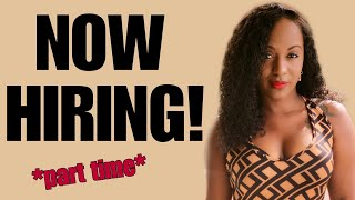 $15-$20 Hourly Part Time Job!