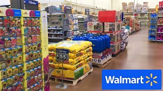 WALMART SUMMER ITEMS GRILLS PATIO CHAIRS PLANTERS POTS SHOP WITH ME SHOPPING STORE WALK THROUGH