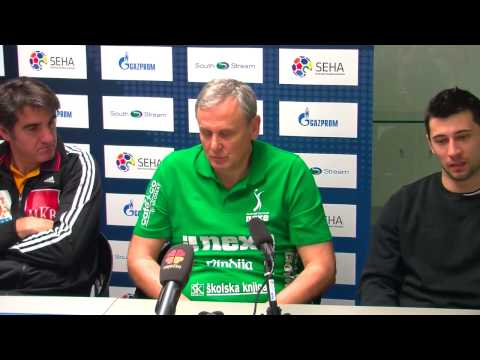 Nexe - MKB-MVM Veszprem Post-Match Press conference