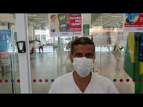 Sindicato protesta contra demissões no Bradesco em Santos