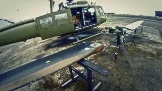DORNIER UH-1D (205) FLYING IN PHILIPPINES