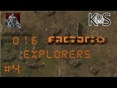 0.16 Factorio Explorers EP4: Red & Green Science! - Multiplayer Gameplay, Lets Play