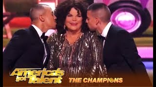 Vicki Barbolak: NASTY Funny Comedian Is Back On The Big Stage! | America's Got Talent: Champions