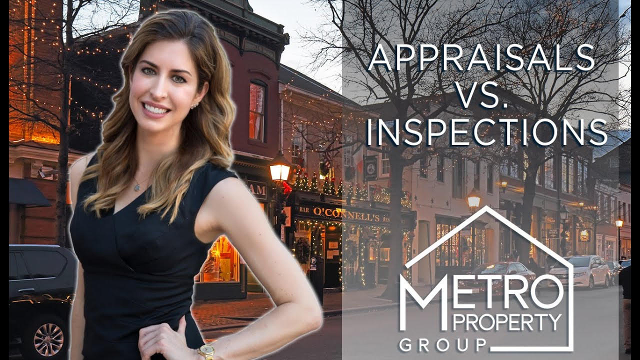 The Differences Between Appraisals and Inspections
