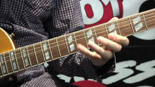 How To Play Guitar - Riffs 101 Lesson #33: Thunderstruck