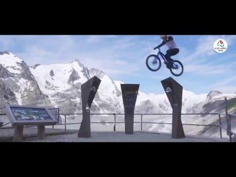 רוכב האופניים דני מק'אסקיל כובש את הרי האלפים עם פעלולי האקסטרים שלו