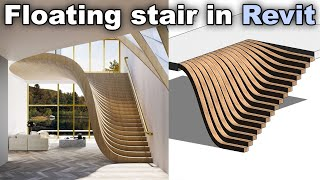 Floating Stairs In Revit Tutorial