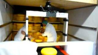 Loading cheese with Vaculex Parcelift