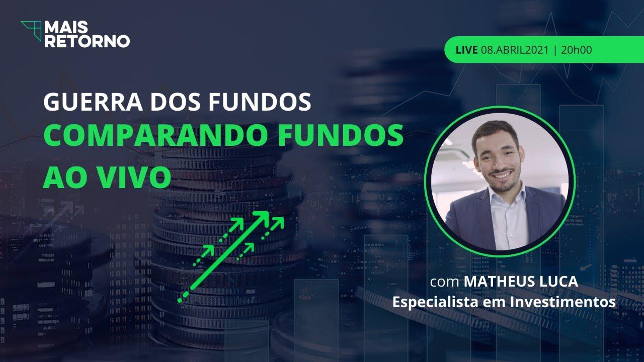 Guerra dos Fundos! Comparando Fundos de investimentos usando o comparador de fundos da MR