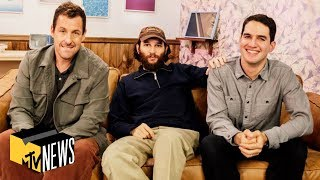 Adam Sandler & the Safdie Brothers on 'Uncut Gems,' Fighting The Weeknd & Chris Farley   MTV News