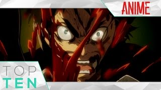 Top Ten - Greatest Anime Rage Moments of All Time!! (Top 10)