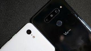lg v40 thinq vs google pixel 3 xl camera test - TH-Clip