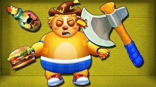 ТОЛСТЫЙ АНТИСТРЕСС против ТОПОРА ПУЛЕМЕТА И БОМБ Уничтожь любым способом funny games tv андроид игра