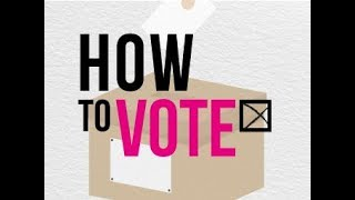 How to Actually Vote at the Polling Station | Young Scot