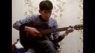 Айга карап под гитарой