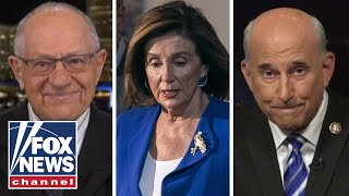 Dershowitz, Gohmert on Pelosi's failed attempt to control Senate impeachment