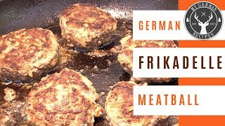 Frikadellen - German Meatballs ✪ MyGerman.Recipes