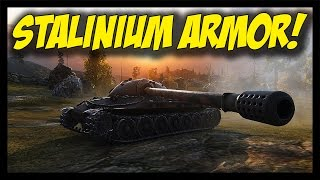 ► World of Tanks: AMX 50B feat. IS-7 - STALINIUM Armor!