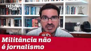 Constantino: Censura de Greenwald escancara militância da imprensa
