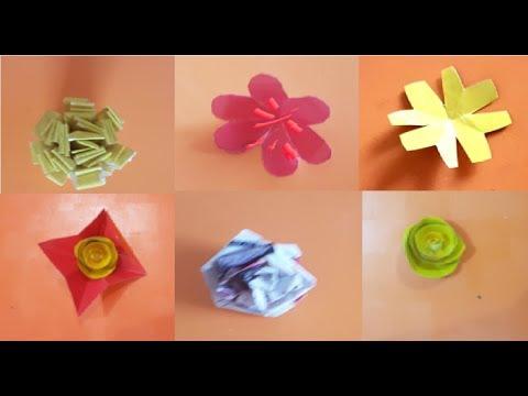 Download Best 6 Easy Paper Flowers Tutorial Diy Paper Flower Crafts