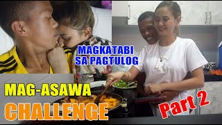 24 HOURS MAG-ASAWA CHALLENGE | Magkatabi | Part 2 | SY Talent Entertainment
