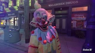 Halloween Horror Nights Scare Zones at Universal Orlando 2018