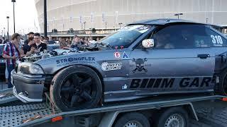Marian robi hałas - BMW E36 2.8 Turbo