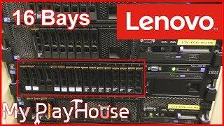 Lenovo x3650 M4 erfolgreich erweitert auf 16 Festplattenschächte - 636