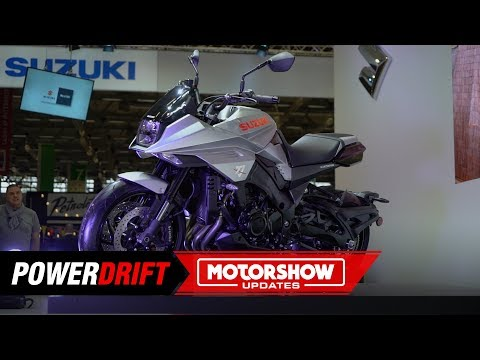 2019  Suzuki Katana : The LEGEND is BACK : Intermot 2018 : PowerDrift