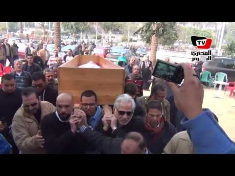 تشييع جنازة الممثل جمال إسماعيل بحضور عدد من الفنانين