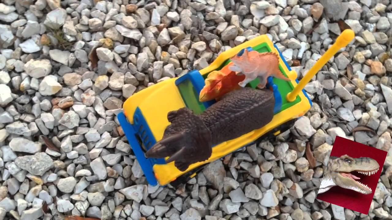 Un viaje familiar de dinosaurios