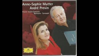 André Previn (1929-2019) : Concerto for violin and orchestra 'Anne-Sophie' (2001)