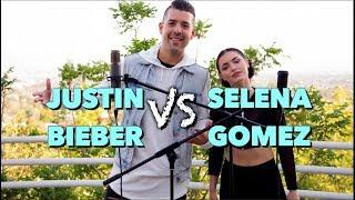 Justin Bieber vs. Selena Gomez (SING-OFF) - Video Youtube
