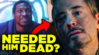 Iron Man Death PLANNED BY KANG? Why Tony Had to Die