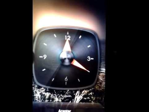 Video of wClock widget free