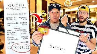 WE SWAPPED CREDIT CARDS FOR 24 HOURS !! (YOU WON'T BELIEVE HOW MUCH WE SPENT)
