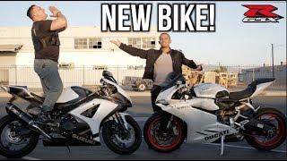 BOUGHT A NEW MOTORCYCLE!   Suzuki GSXR 1000