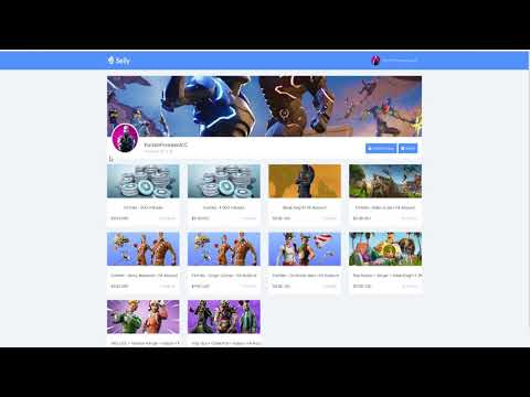 Fortnite Cheapest Account Shop Selly Gg Verified