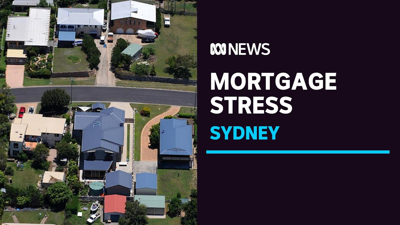 Growing variety of Sydney homes battle to pay for their loans|ABC News thumbnail