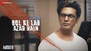 Bol Ke Lab Azad Hain - Full Video | Manto |Nawazuddin