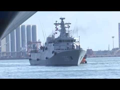 Indonesian Naval Ship 'Kri Sultan Hasanuddin' Arrives At Port Of Colombo