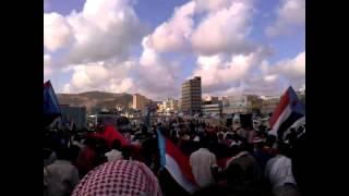 preview picture of video 'جنوب اليمن ذكرى إعلان الحرب 27 أبريل المكلا'