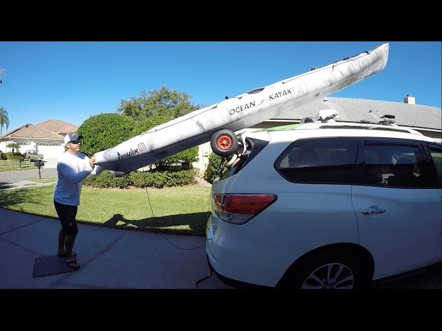 How To Load A Kayak By Yourself (Simple SUV Trick)