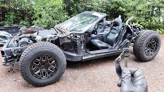 We Hotwired The Vette & Started Building The Roll Cage