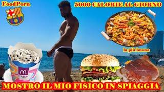 MOSTRO IL MIO FISICO - FOODPORN