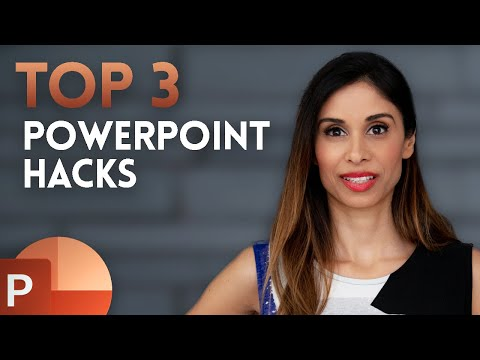 , title : '3 PowerPoint HACKS for INSTANT Improvement (incl. Morph between Shapes)'