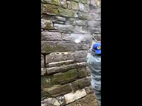 Idro Pulizia Mura Pietra