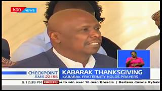 Kabarak Thanksgiving : Kabarak Fraternity holds prayers 3 days after Former President's Burial