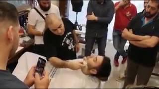 Barber seminar Ξύρισμα παραδοσιακό με κομπρέσες